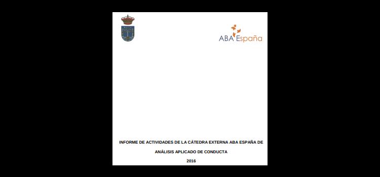 Memoria Cátedra ABA 2016